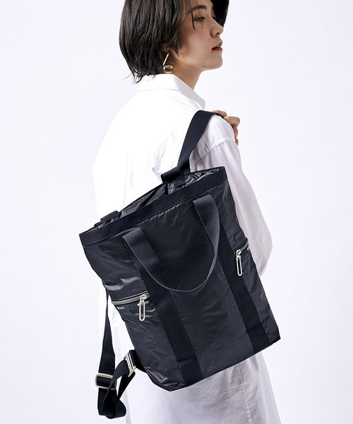 DOWNTOWN BACKPACK/トゥルーブラックC