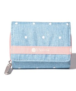 REESE WALLET/デニムドット