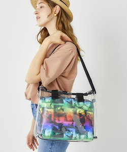 MED CLEAR 2 IN 1 TOTE/サンディ キーズ