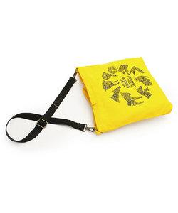 2wayサコッシュバッグ「KAIZO-No.1」 帆布<うまくいく紋・レッド>