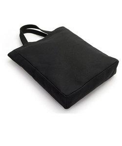 手提げバッグ「蛸錦」 <うまくいく紋・ブラック>