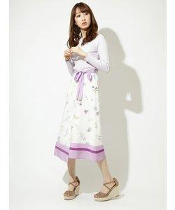 オリジナルフラワーパネルスカート