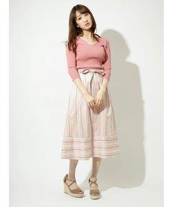オリジナル先染めストライプスカート