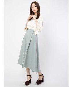 フレアロングフィッシュテールスカート