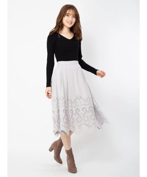 【美人百花掲載】ヒートカットスカート