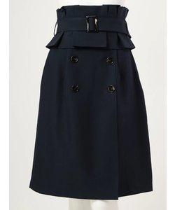コルセットベルト付き3wayトレンチタイトスカート