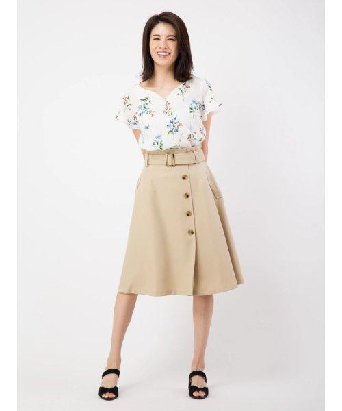 シングルフレアトレンチスカート