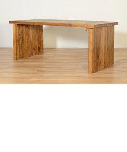 CHISTA(チスタ)/オールドチークダイニングテーブル/2本脚(W1800)