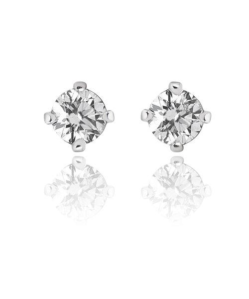 プラチナ ダイヤモンド(0.2ct) ピアス