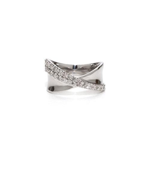プラチナ ダイヤモンド リング(0.5ct)