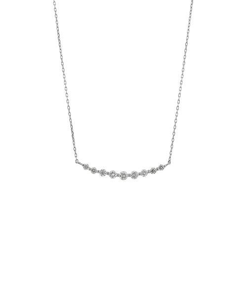 【雑誌掲載】【Just Price】プラチナ ダイヤモンド ネックレス