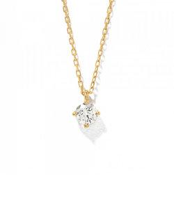【ドラマ着用】K18 イエローゴールド ダイヤモンド ネックレス(0.2ct)<鑑別カード/スコープ付>