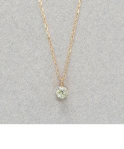 【WEB限定商品】K10 イエローゴールド イエローダイヤモンド ネックレス(0.06ct)