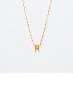 K18 イエローゴールド イニシャル ネックレス(R)