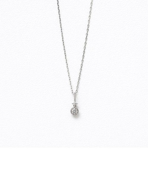 【インスタで話題!】プラチナ ダイヤモンド ネックレス
