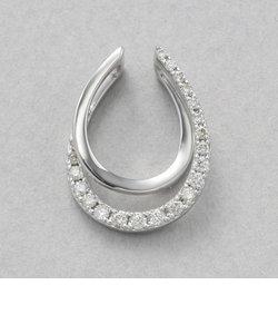 プラチナ ダイヤモンド ネックレスチャーム(トータル0.25ct)