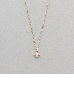 【&mall限定商品】K10 イエローゴールド ダイヤモンド ネックレス