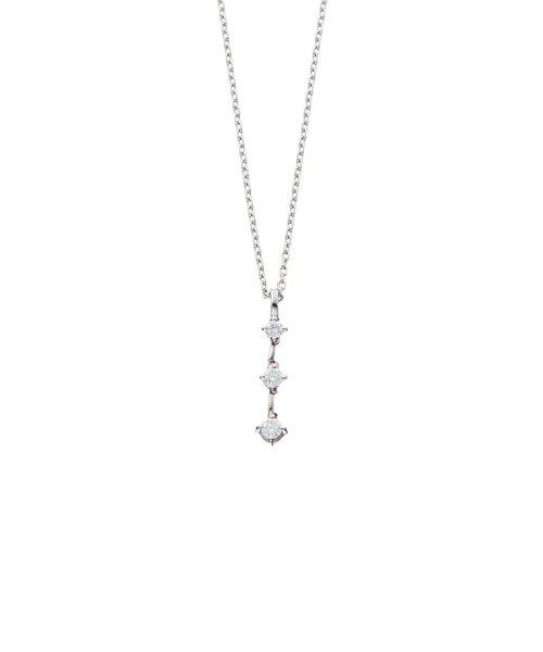 プラチナ ダイヤモンド ネックレス