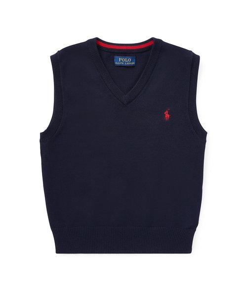 (ボーイズ 2才~4才)コットン セーター ベスト
