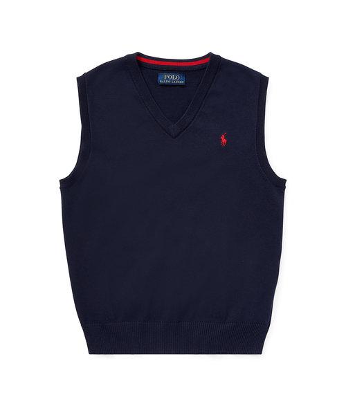 (ボーイズ 8才~20才)コットン セーター ベスト
