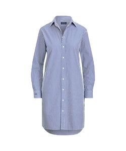 モノグラム コットン シャツドレス