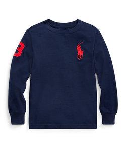 (ボーイズ 5才~7才)Big Pony コットン ジャージー Tシャツ