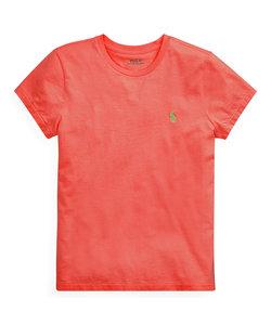 コットン ジャージー クルーネック Tシャツ