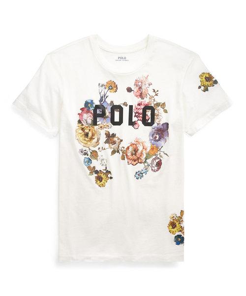Polo フローラル ジャージー Tシャツ