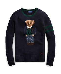 Polo ベア ウールブレンド セーター