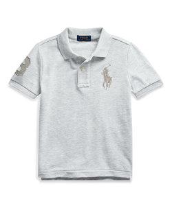 (ボーイズ 5才~7才)コットン メッシュ ポロシャツ