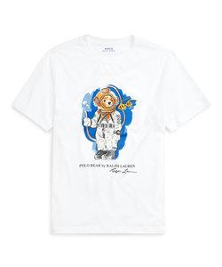 (ボーイズ 8才~20才)ダイビング ベア コットン ジャージー Tシャツ