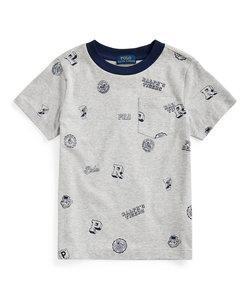 (ボーイズ 2才~4才)カレッジエイト コットン ジャージー Tシャツ