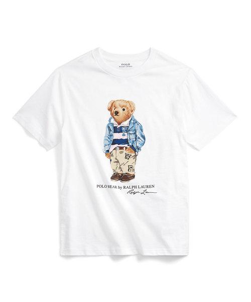 (ボーイズ 8才~20才)プレッピー ベア コットン ジャージー Tシャツ