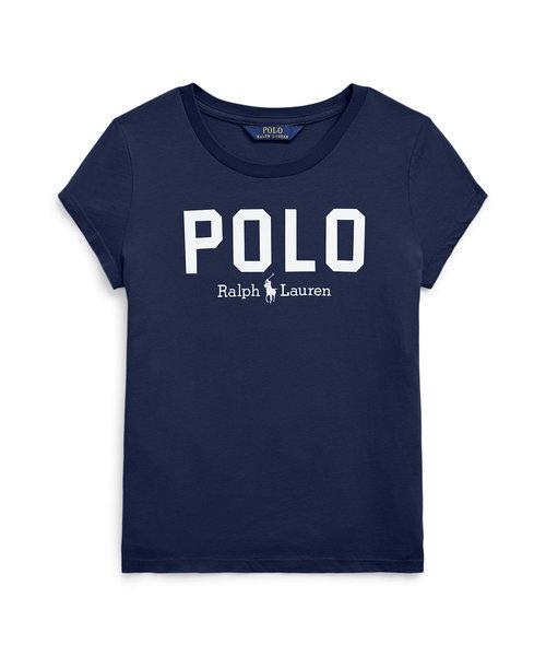 (ガールズ 7才~16才)Polo コットン ジャージー Tシャツ