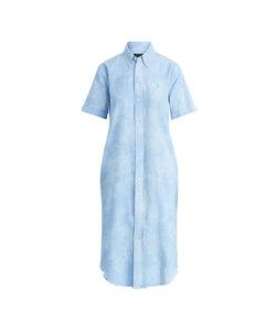 コットン オックスフォード シャツドレス