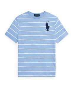 (ボーイズ 8才~20才)ストライプド コットン ジャージー Tシャツ