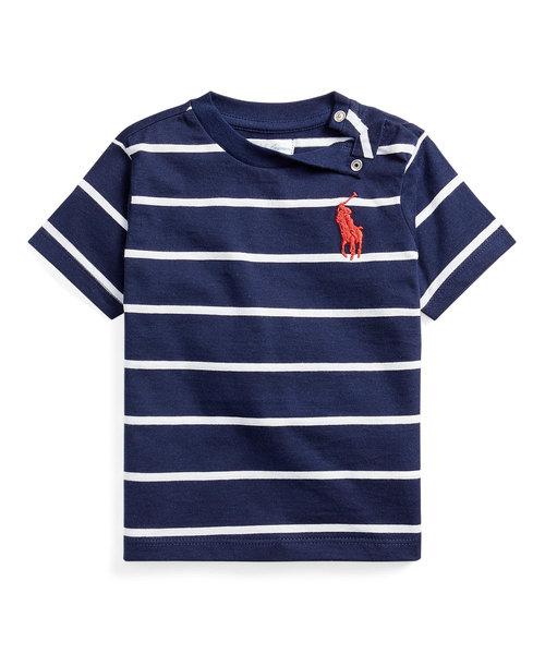 (ベビー)コットン ジャージー クルーネック Tシャツ