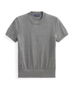 コットン ショートスリーブ セーター