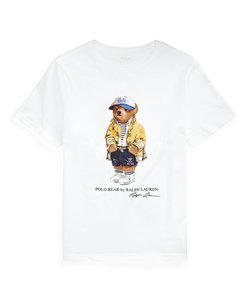 (ボーイズ 8才~20才)CP-93 Polo ベア コットン ジャージー Tシャツ