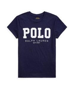 Polo ロゴ コットン ジャージー Tシャツ