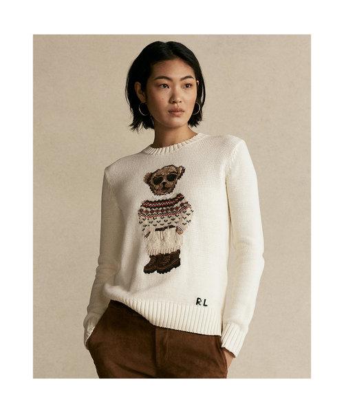 Polo ベア クルーネック セーター