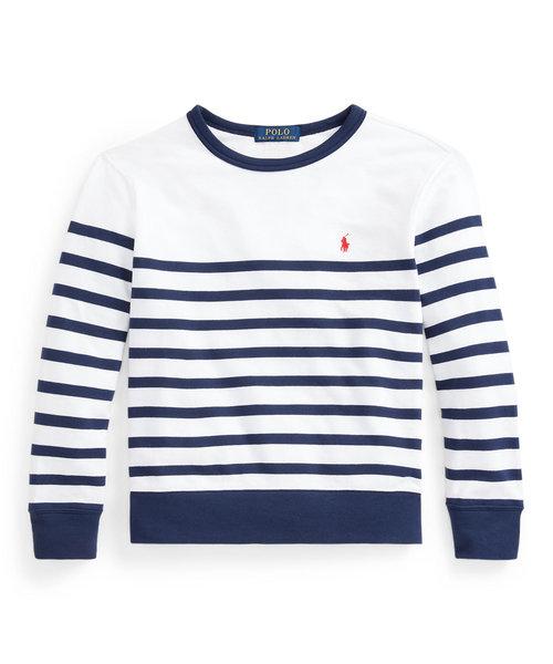(ボーイズ 8才~20才)ストライプド スパ テリー スウェットシャツ