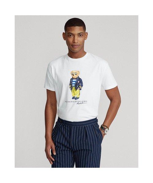 マリーナ Polo ベア ジャージー Tシャツ