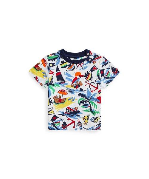 (ベビー)Polo ベア コットン ジャージー Tシャツ