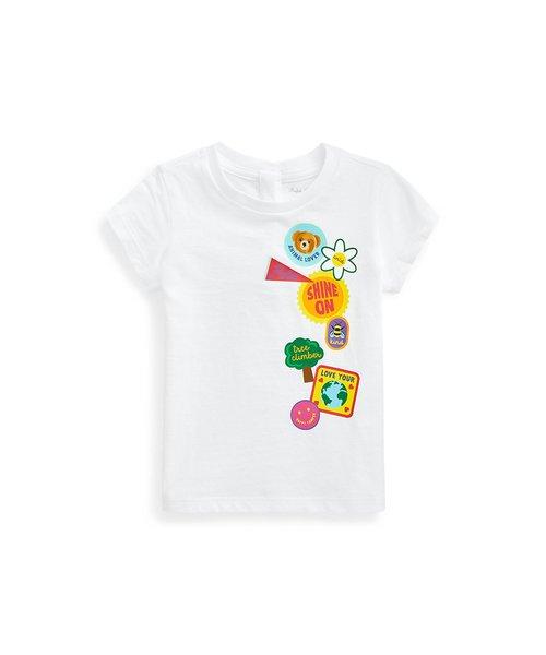 (ベビー)ロゴ グラフィック コットン ジャージー Tシャツ