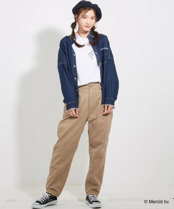 ミッフィーポケット付クルーTシャツ
