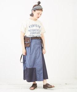 ライトツイル サコッシュ付 ラップカーゴスカート