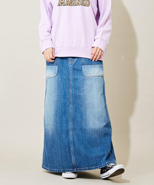 10.8オンス デニム ベーカースカート
