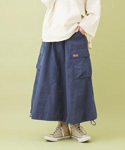 コットン ナイロン 高密度オックス バルーンスカート