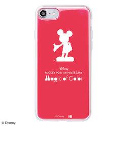 iPhone 8 / 7 /『ディズニーキャラクター』/TPUケース+背面パネル『ミッキーマウス 90周年/Colorful』_01